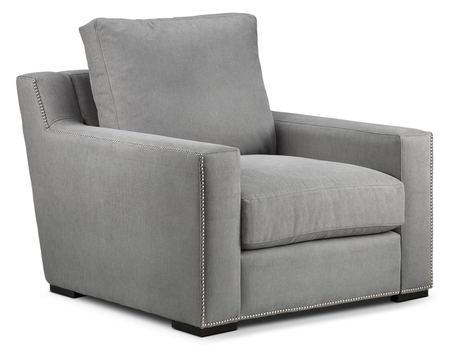 Living Room Furniture - Ethan Chair - Graphite