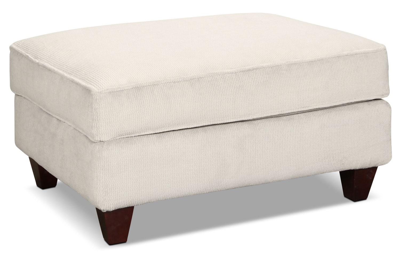Watson Ottoman - White