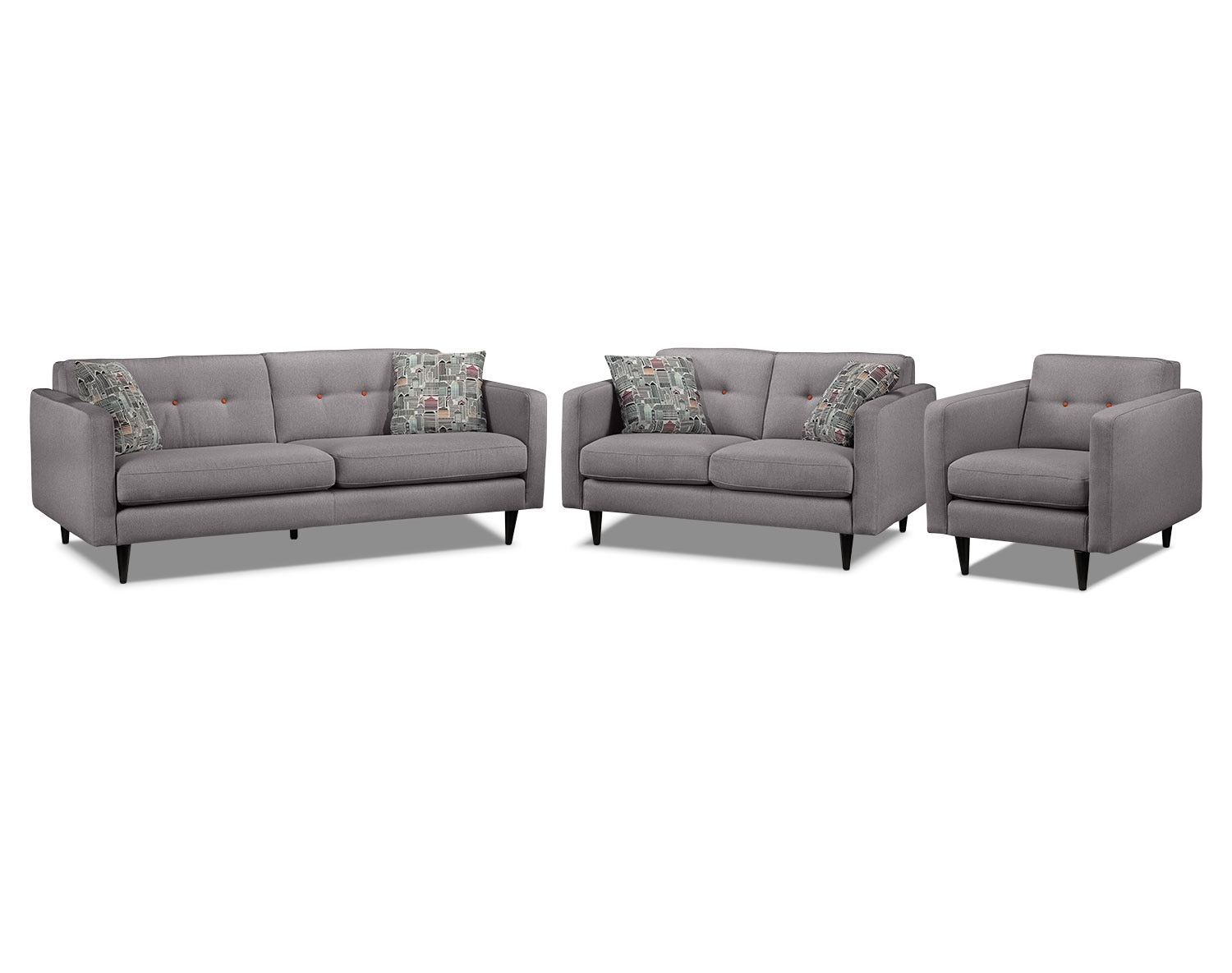 The Lassen Collection - Grey