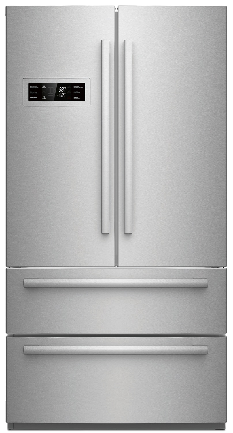 Refrigerators and Freezers - Bosch Stainless Steel Counter-Depth French Door Refrigerator (20.7 Cu. Ft.) - B21CL80SNS