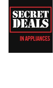 Secret Deals in Appliances
