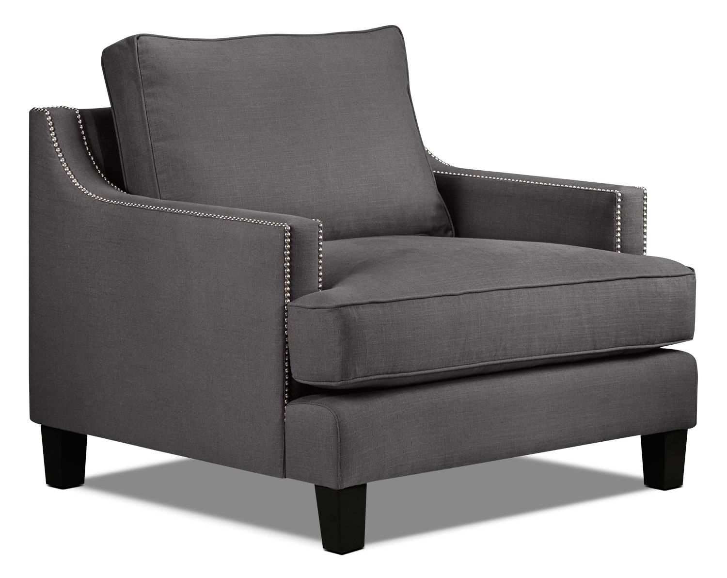 Jules Chair - Charcoal
