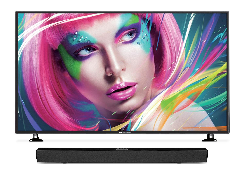 "RCA Scenium 55"" 4K UHD LED Television with Proscan Soundbar"