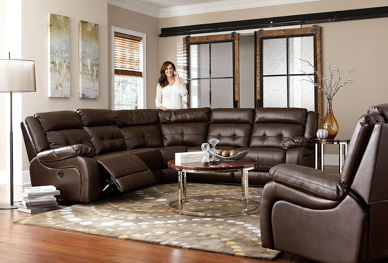 Gallatin Recliner Godiva Levin Furniture