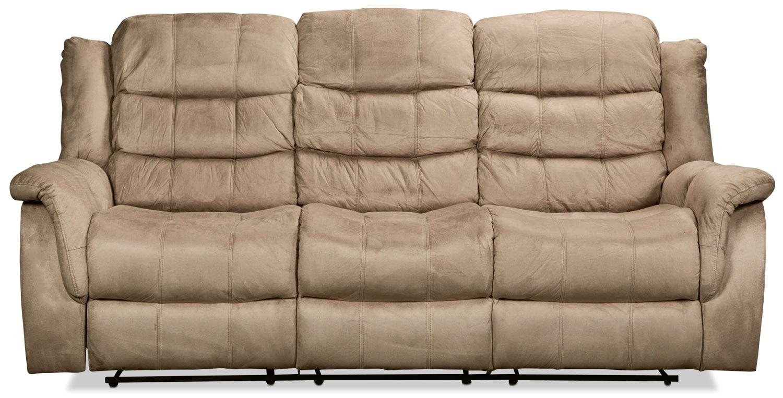 Benton Reclining Sofa - Cobblestone