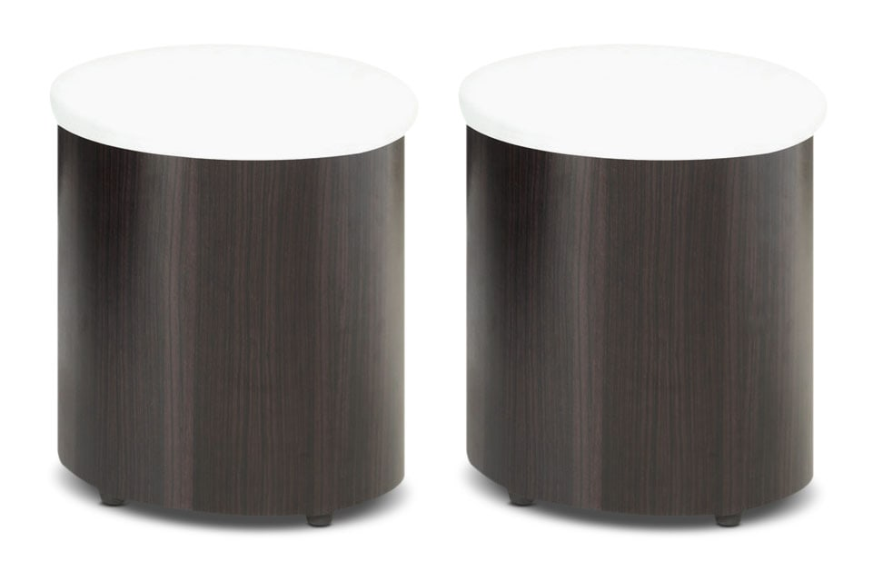 Living Room Furniture - Seradala Ottomans – Set of 2