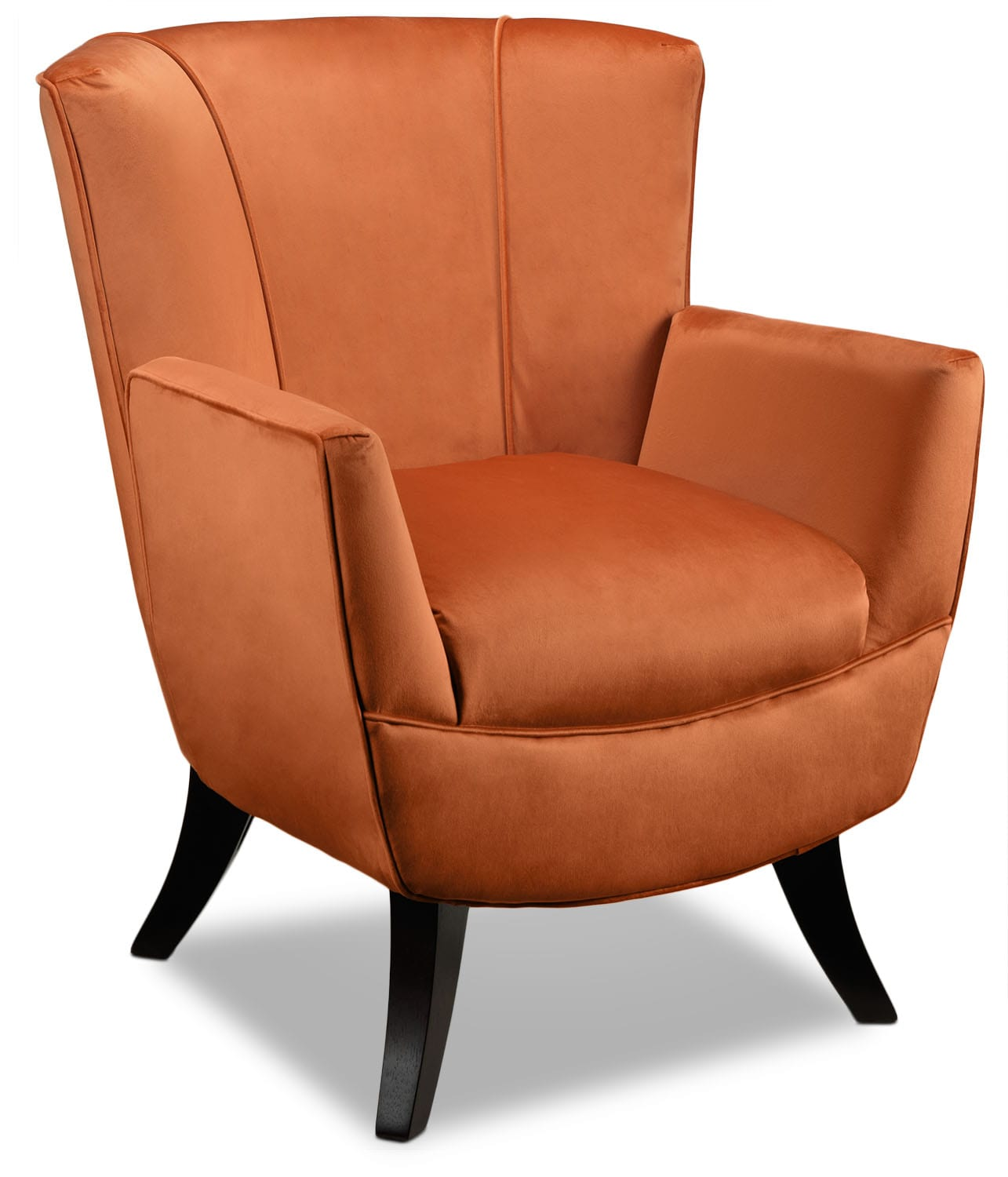 Accent and Occasional Furniture - Bethany Accent Chair - Mandarin