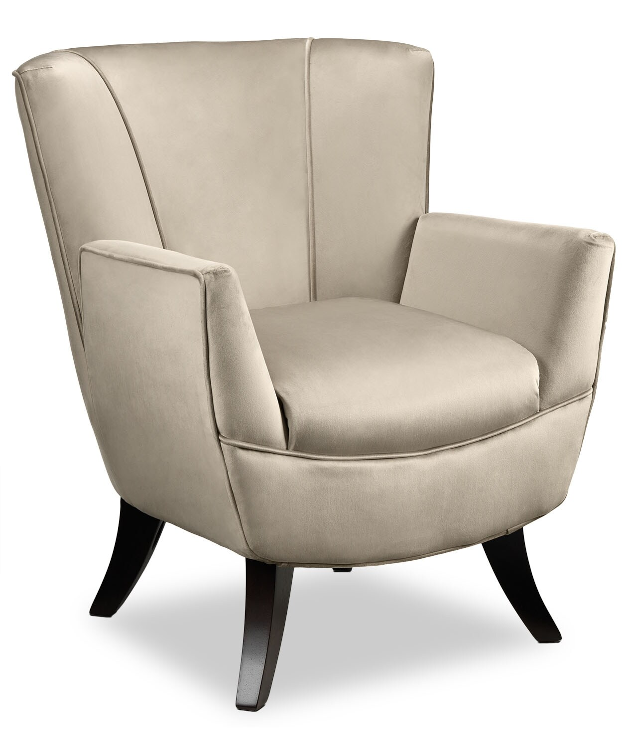 bethany accent chair  beige  leon's -  accent chair  beige hover to zoom