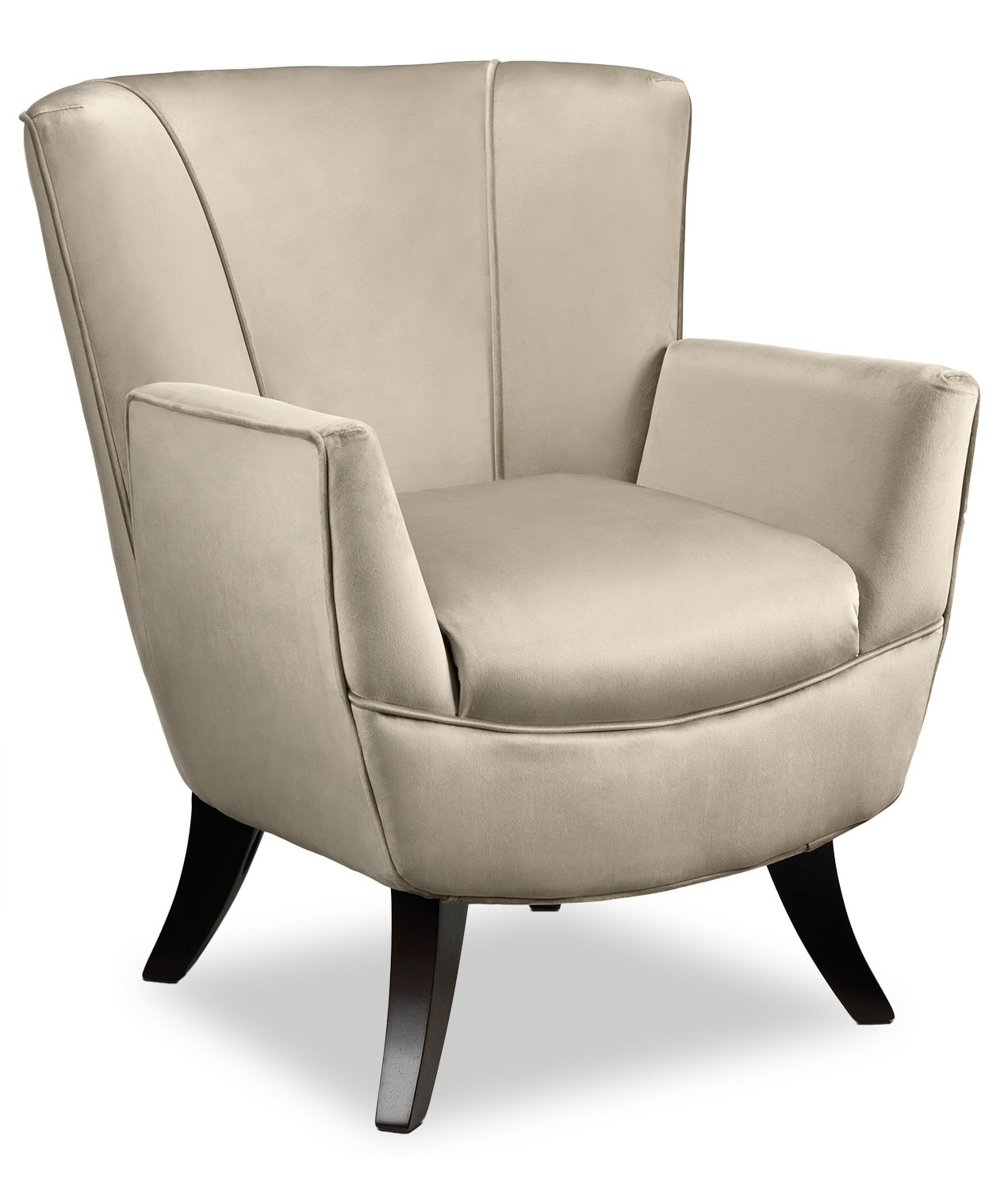 Accent and Occasional Furniture - Bethany Accent Chair - Beige