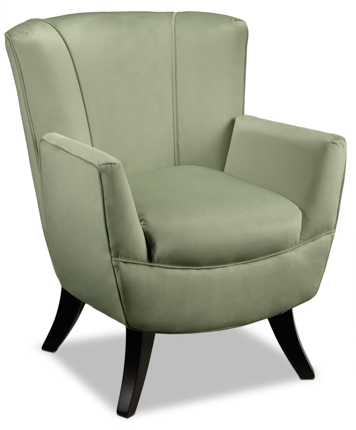 Living Room Furniture - Bethany Accent Chair - Celadon