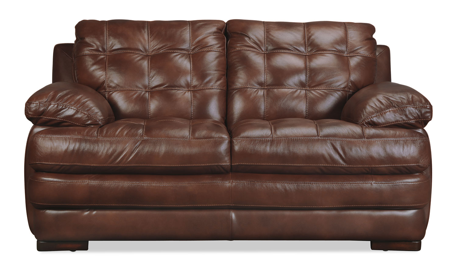 Ashton Loveseat - Brown