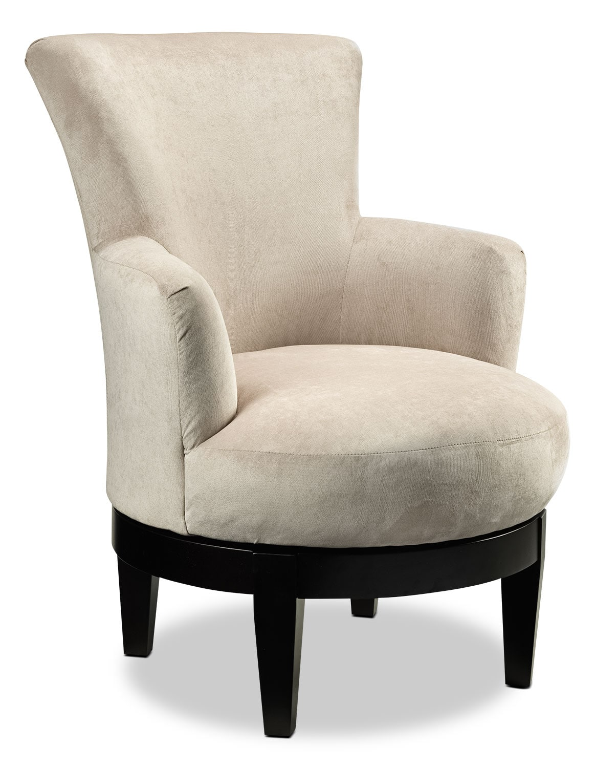 Living Room Furniture - Justine Accent Chair - Beige