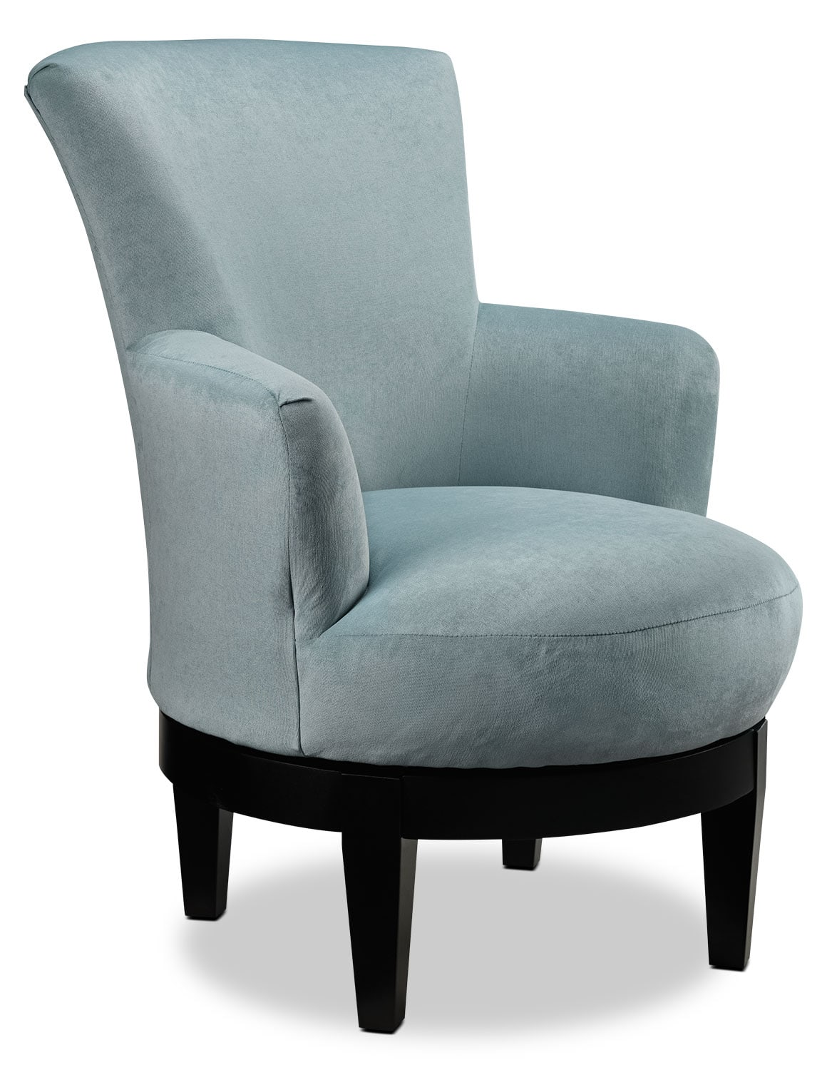 Living Room Furniture - Justine Accent Chair - Spa Blue