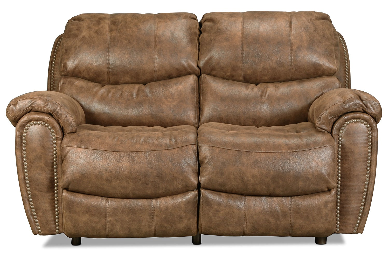 Chase Reclining Loveseat - Walnut