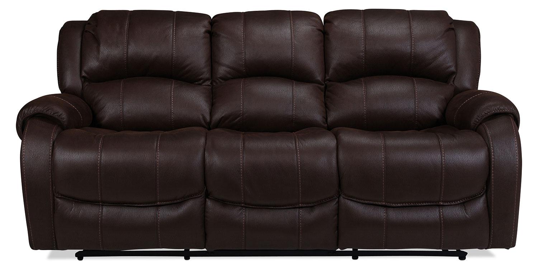 Kensington Reclining Sofa - Godiva