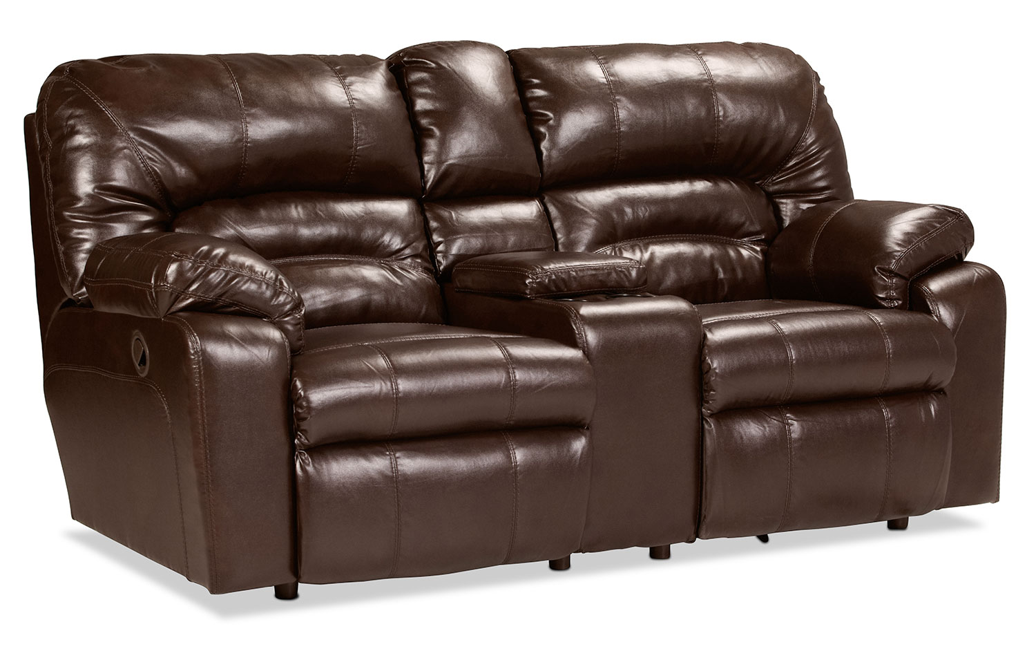 Chemineeholz Aufbewahrung unwind reclining loveseat with console java levin furniture