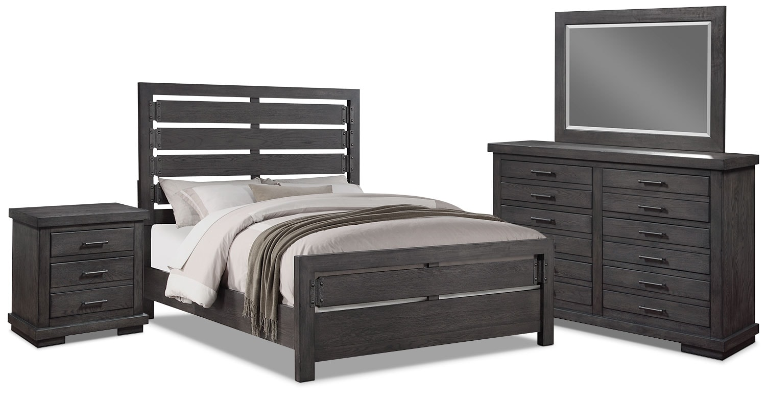 Bedroom Furniture - Revolution 6-Piece King Bedroom Package