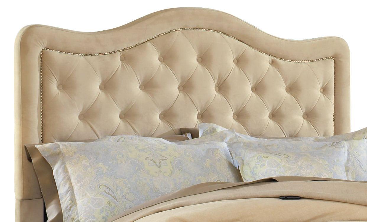 Bedroom Furniture - Trieste Queen Headboard – Buckwheat