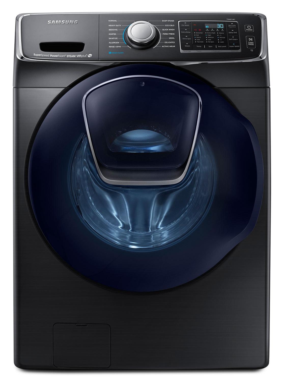 Laveuse Samsung à chargement frontal de 5,8 pi3 – acier inoxydable noir WF50K7500AV/A2