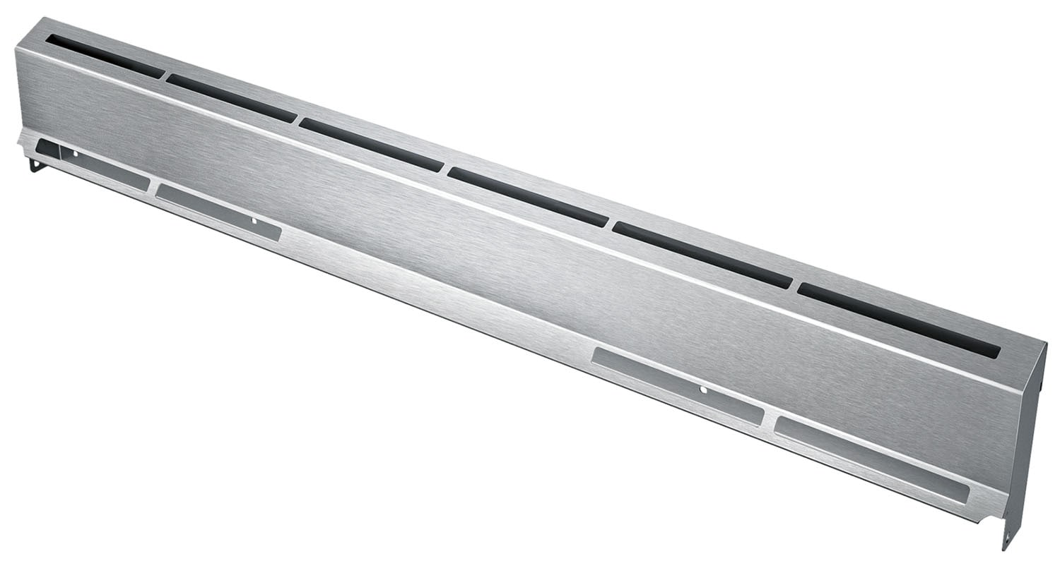 "Cooking Products - Bosch 4"" Stainless Steel Low-Back Dual-Fuel Range Guard - HDZBS301"