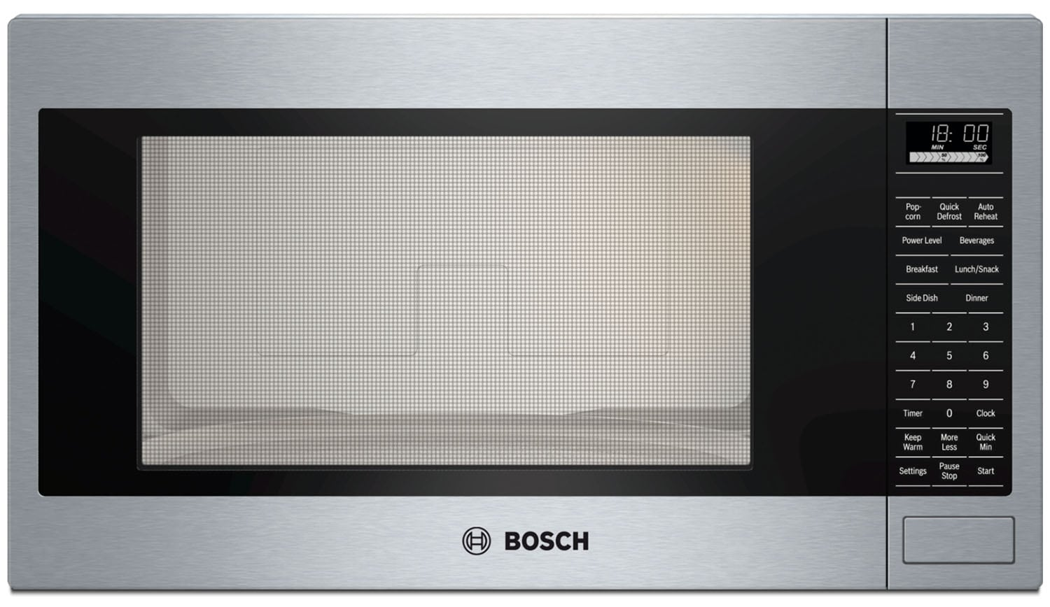 Cooking Products - Bosch Stainless Steel Built-In Microwave (2.1 Cu. Ft.) - HMB5051