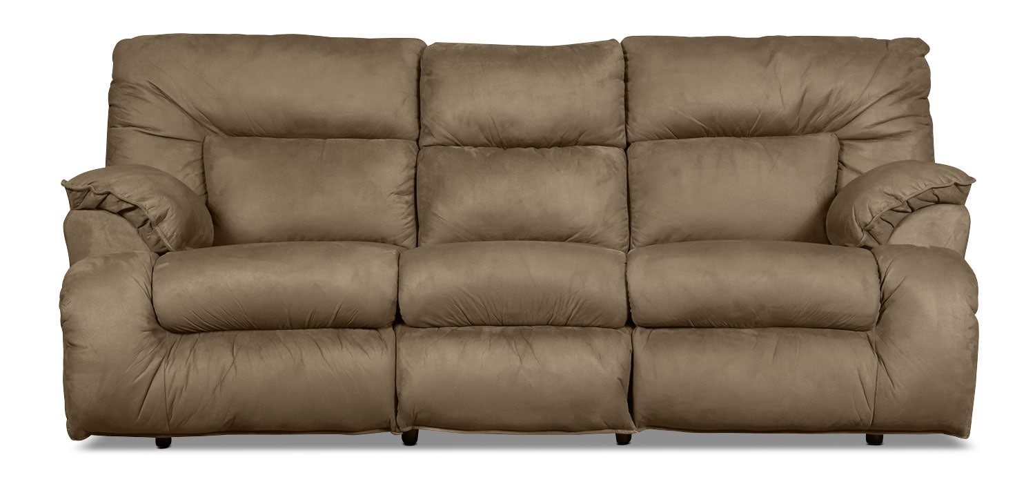 Stanford Rocking Reclining Sofa - Fern