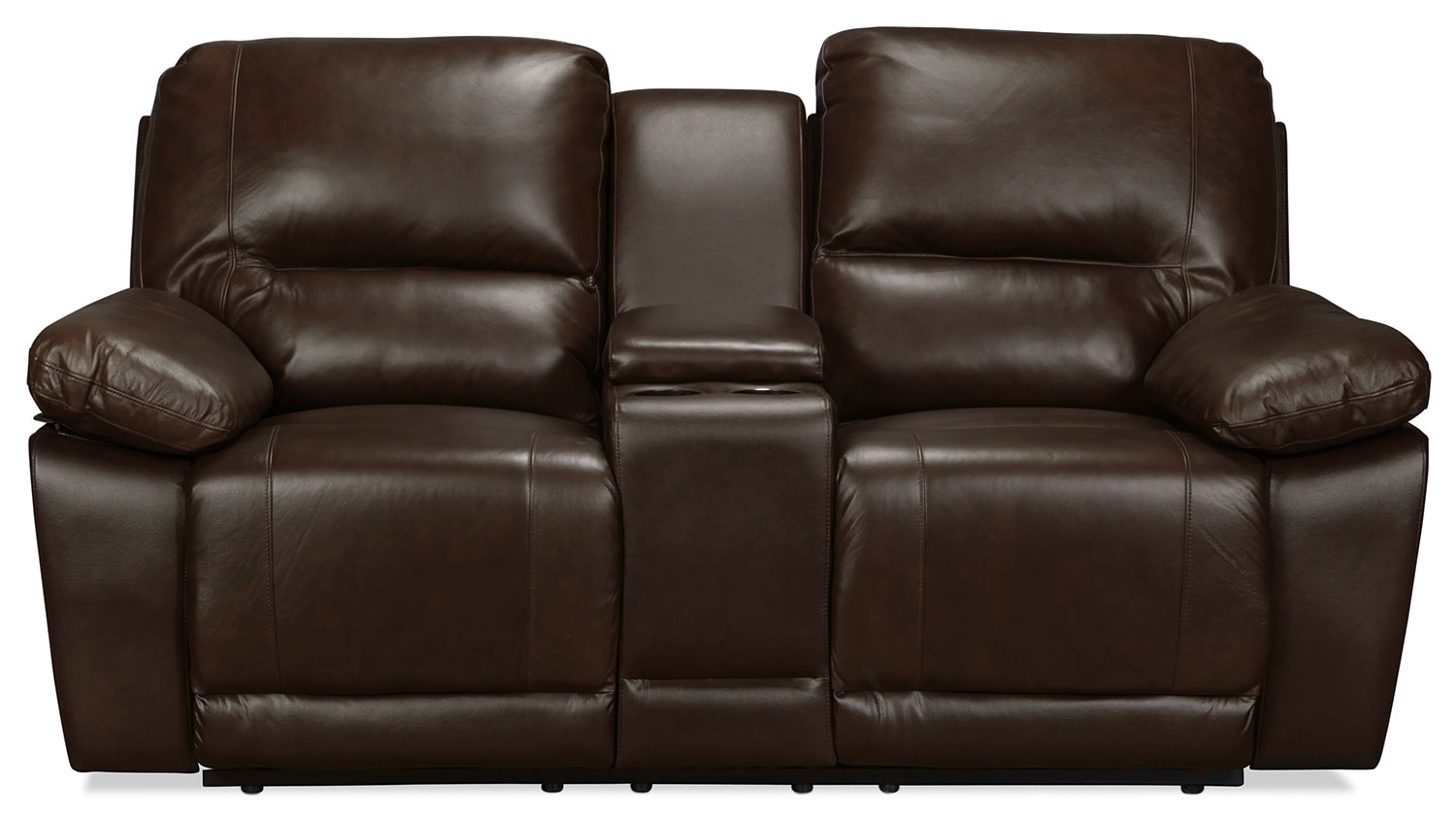 Monette Reclining Loveseat - Brown