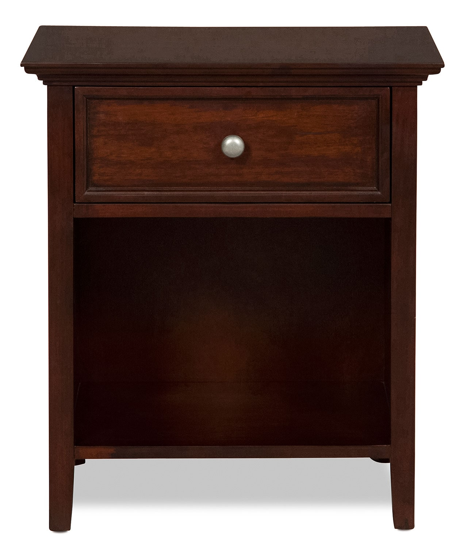 Bedroom Furniture - Ellsworth Nightstand - Cherry