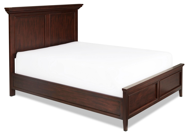 Ellsworth King Panel Bed - Cherry
