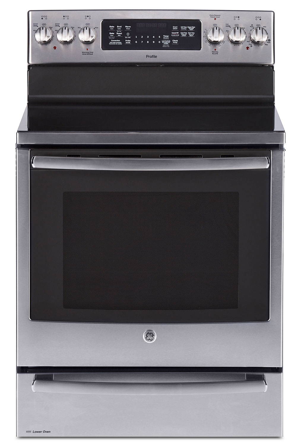 Cooking Products - GE 6.2 Cu. Ft. Freestanding Electric Range with Baking Drawer – PCB985SKSS