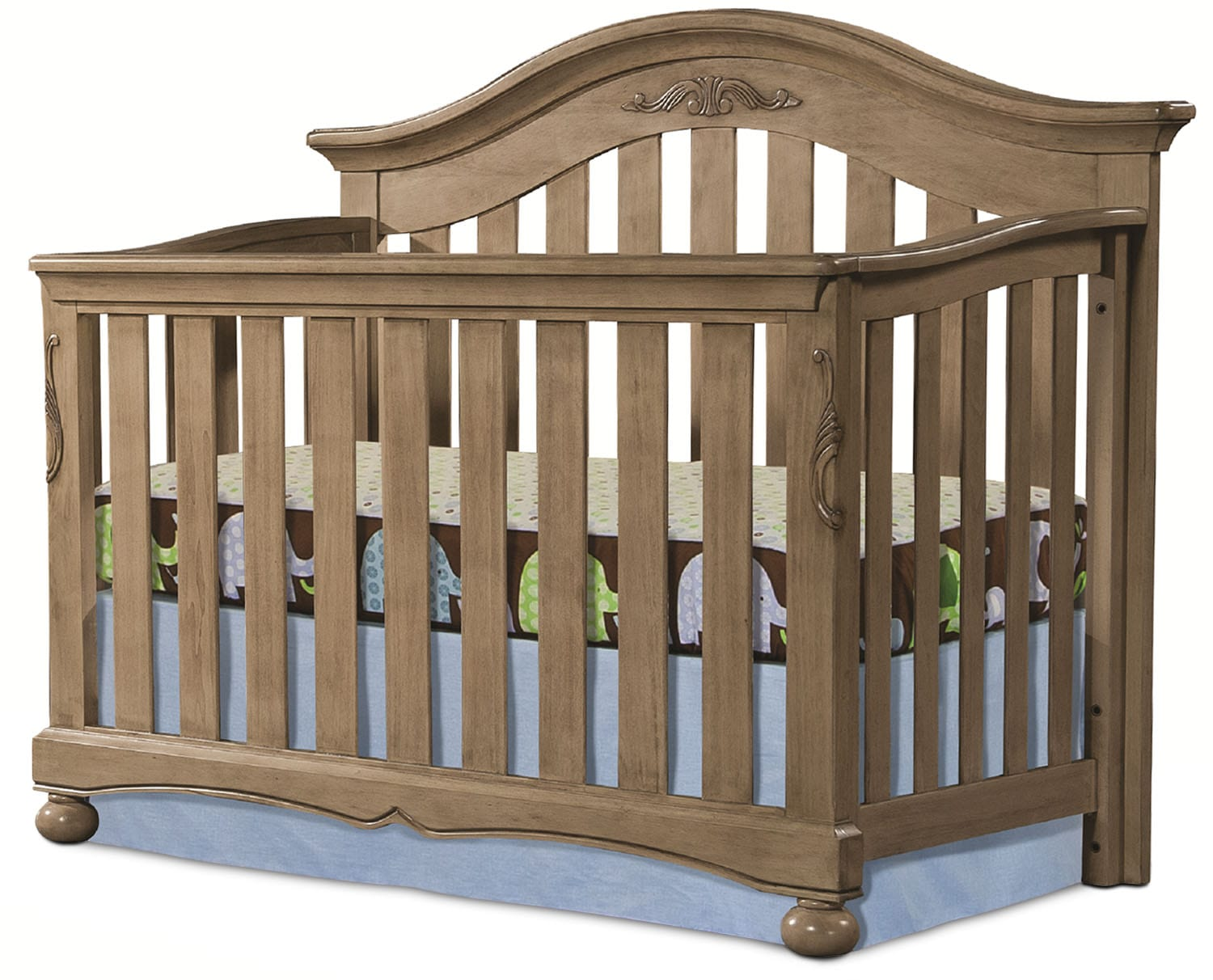 Kids Furniture - Darcy Convertible Crib - Vintage Neutral