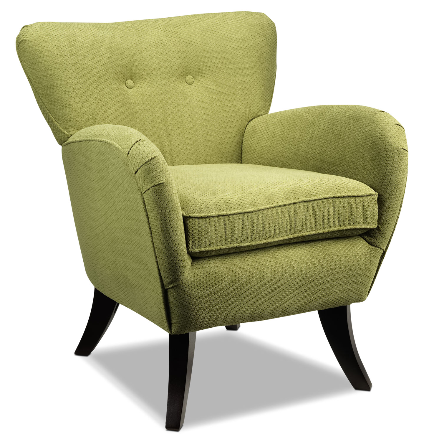 Living Room Furniture - Elnora Accent Chair - Loden Green