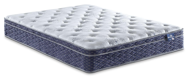 Mattresses and Bedding - Sertapedic® Endorsement Euro-Top King Mattress