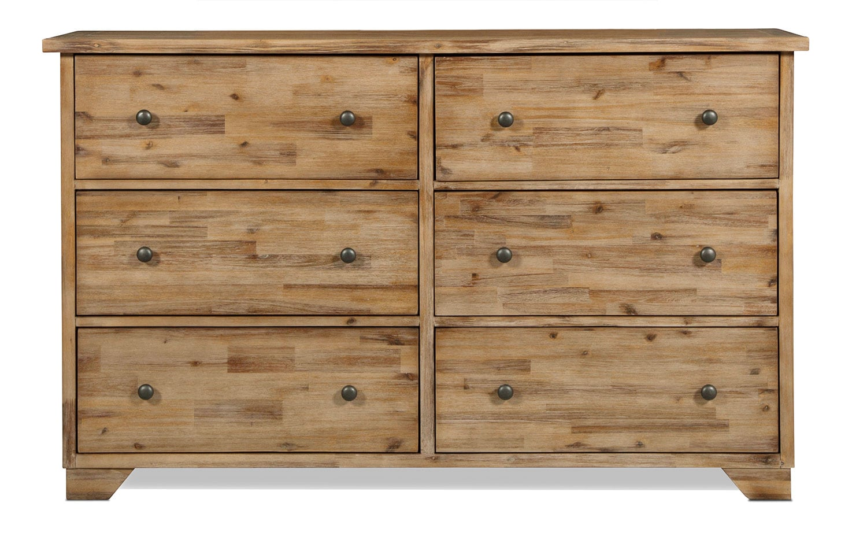 Annabella Dresser - Brushed Acacia