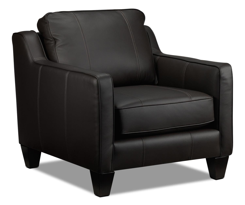 Living Room Furniture - Selinda Chair - Espresso