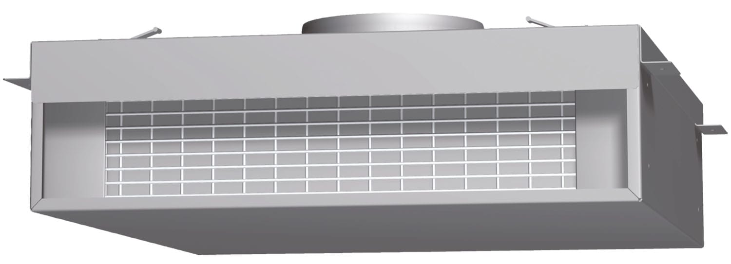 Cooking Products - Bosch Grey Downdraft Recirculation Module - DHDRM36UC