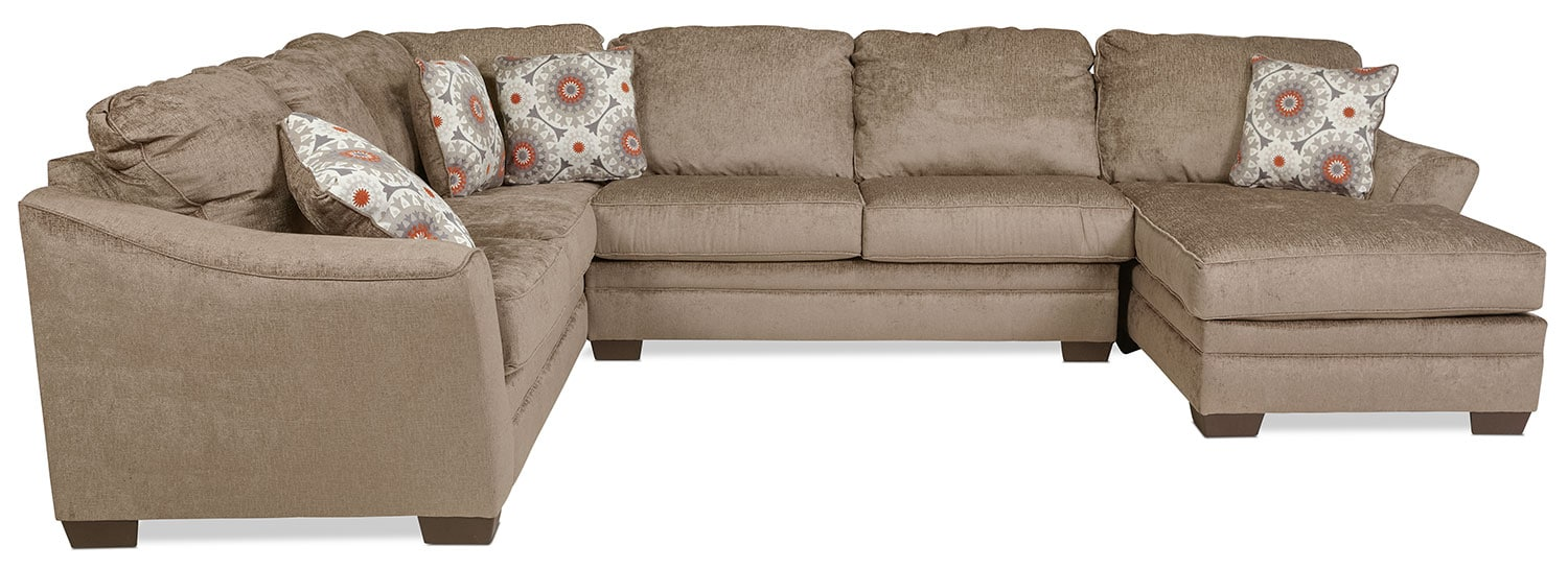 Westby 3-Piece Right-Facing Sectional - Quartz
