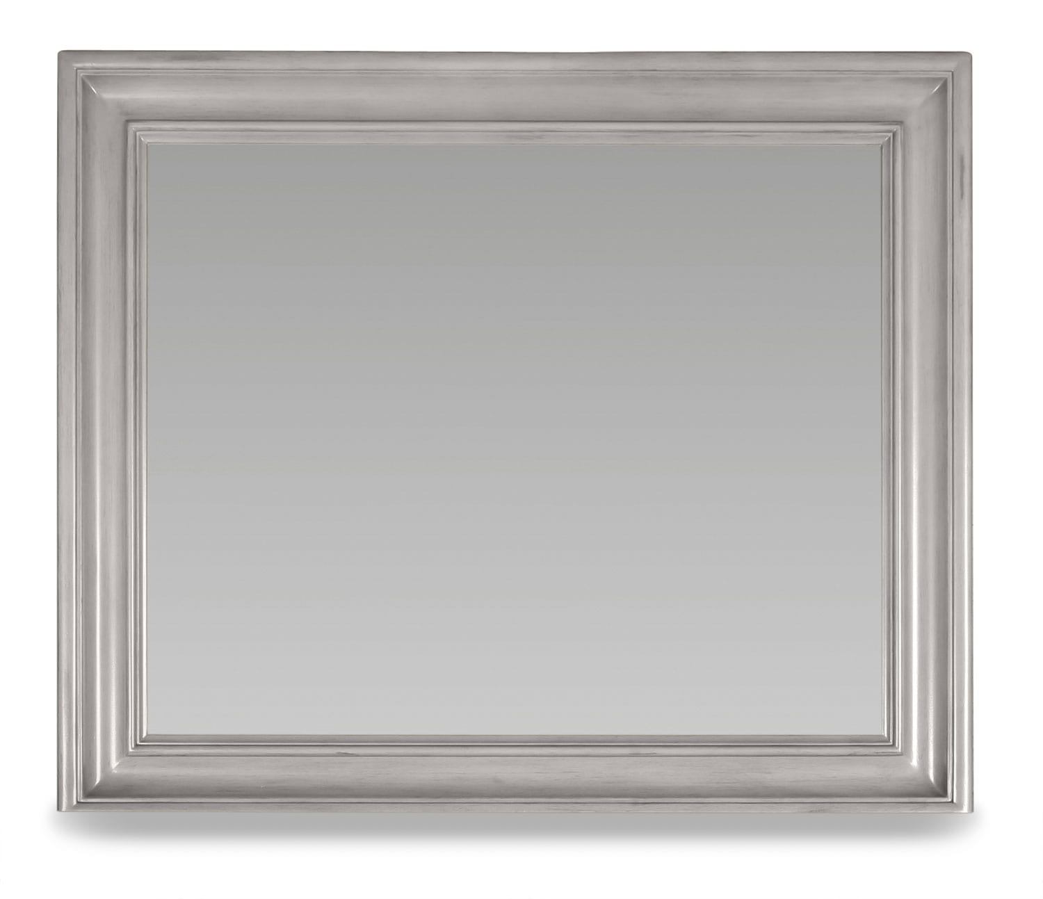 Brimley Mirror - Grey