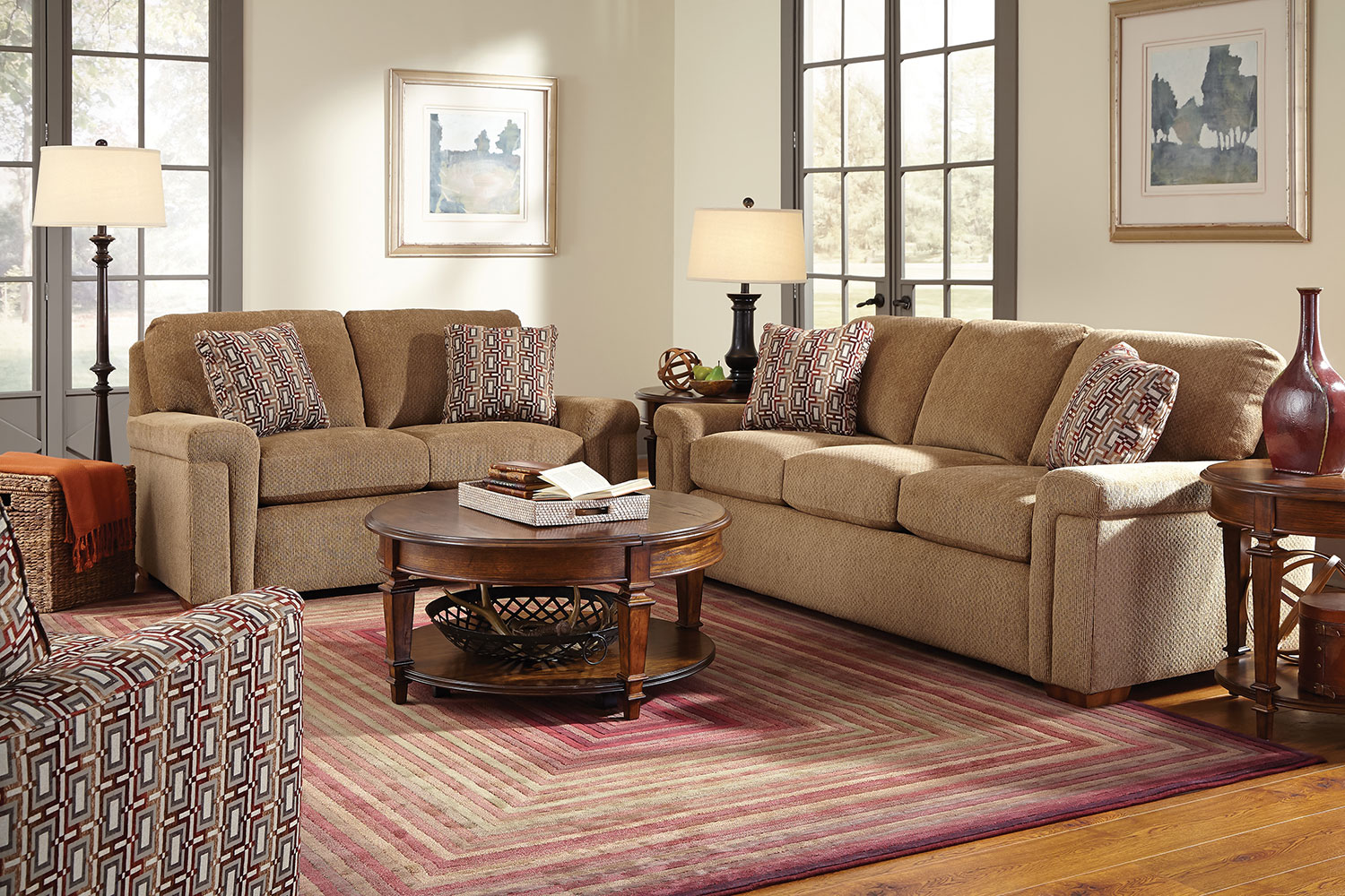 Hailey sofa cafe levin furniture for Levin furniture living room chairs