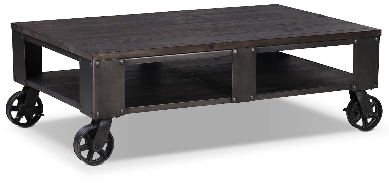pinebrook coffee table - grey | leon's