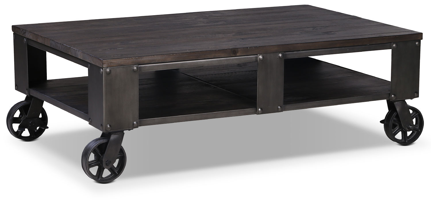Accent and Occasional Furniture - Pinebrook Coffee Table - Grey