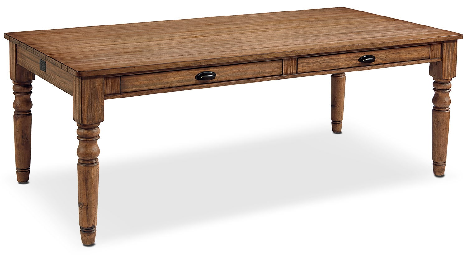 Primitive Taper Turned 8 Dining Table Bench Value