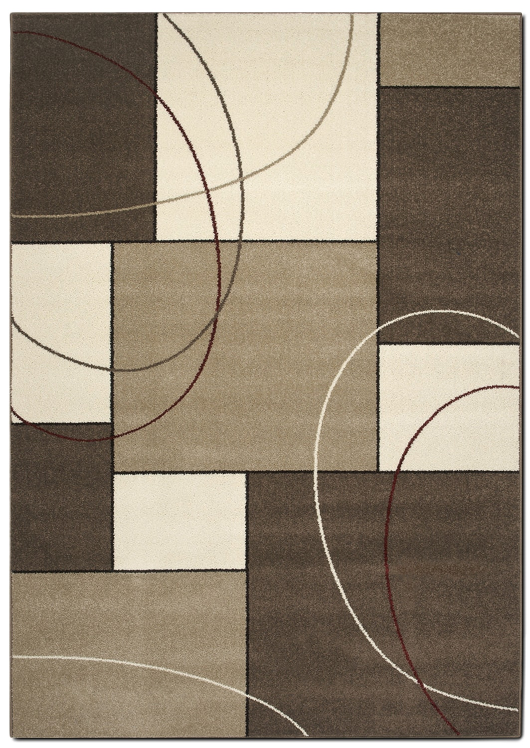 Casa Abstract 5' x 8' Area Rug