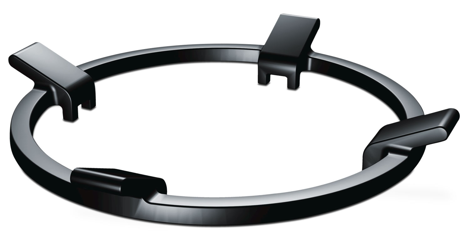 Bosch Black Slide-In Range Wok Ring - HEZ298102