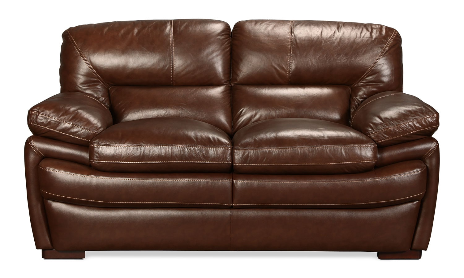 Hayes Loveseat - Brown