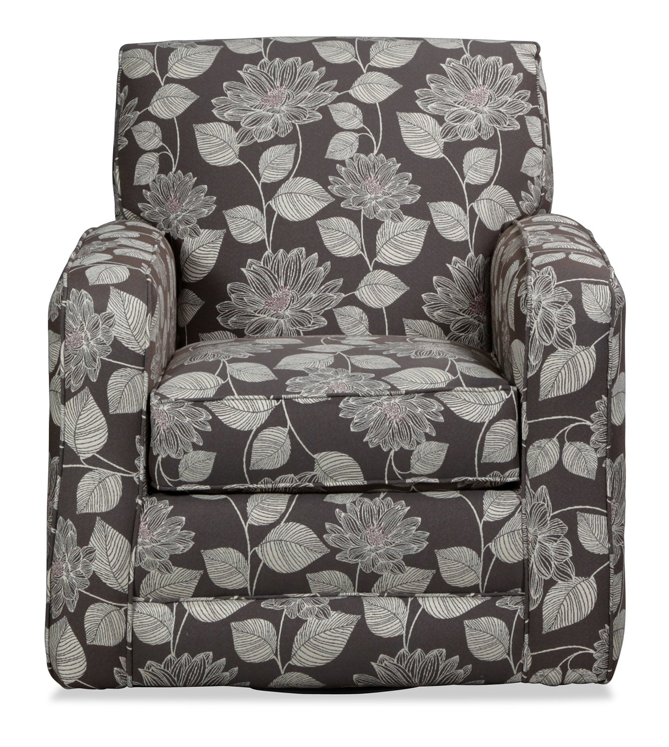 Torrey Accent Swivel Chair - Floral