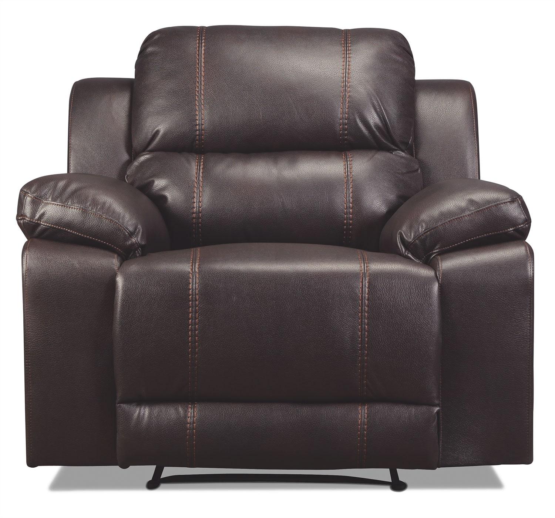 Living Room Furniture - Loretto Recliner - Java