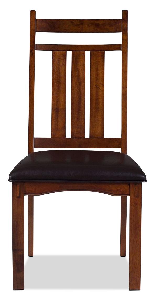 Jasper Side Chair - Chestnut