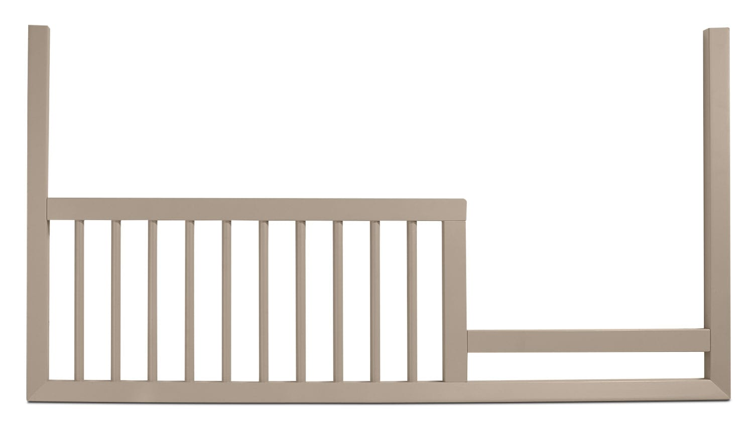 Kids Furniture - Finley Toddler Rail - French Grey