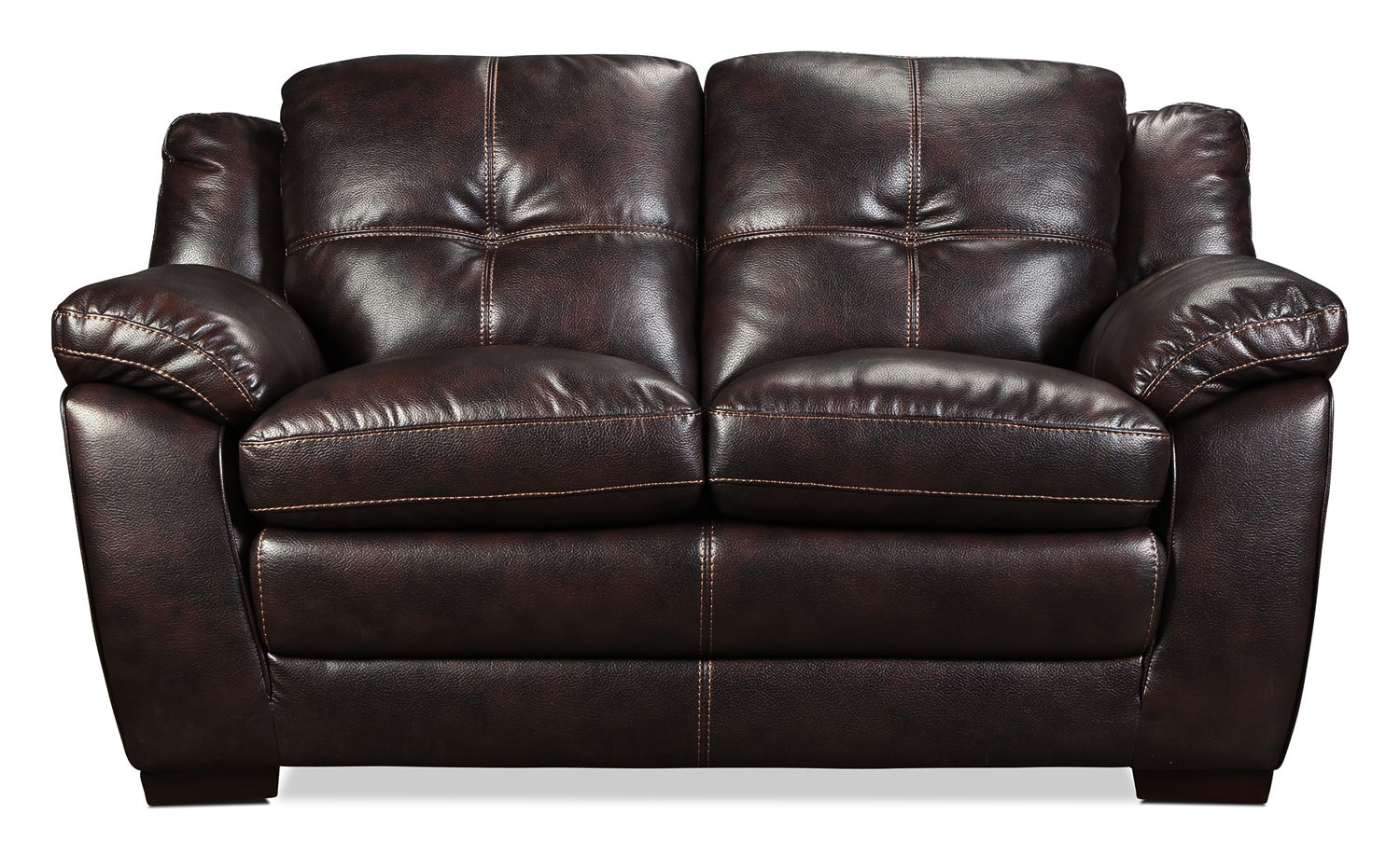 Lytton Loveseat - Brown